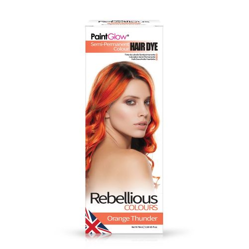 Orange Thunder - Semi Permanent Hair Dye 70ml